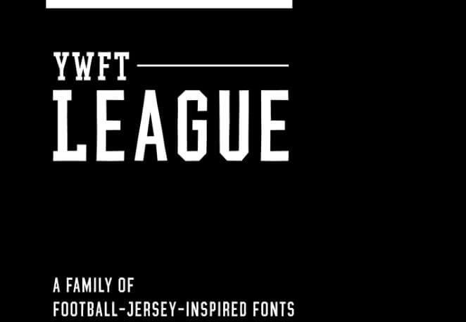 Jersey Font