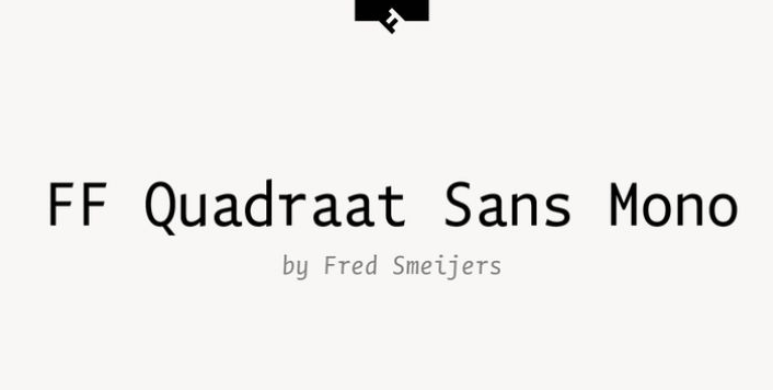 Quadraat Sans Font