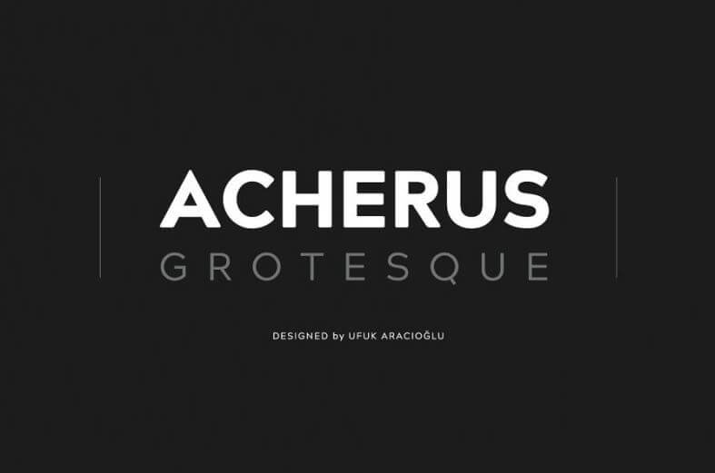 acherus font - Acherus Grotesque Font Free Download