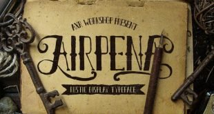 airpena font 310x165 - Airpena Rustic Font Free Download