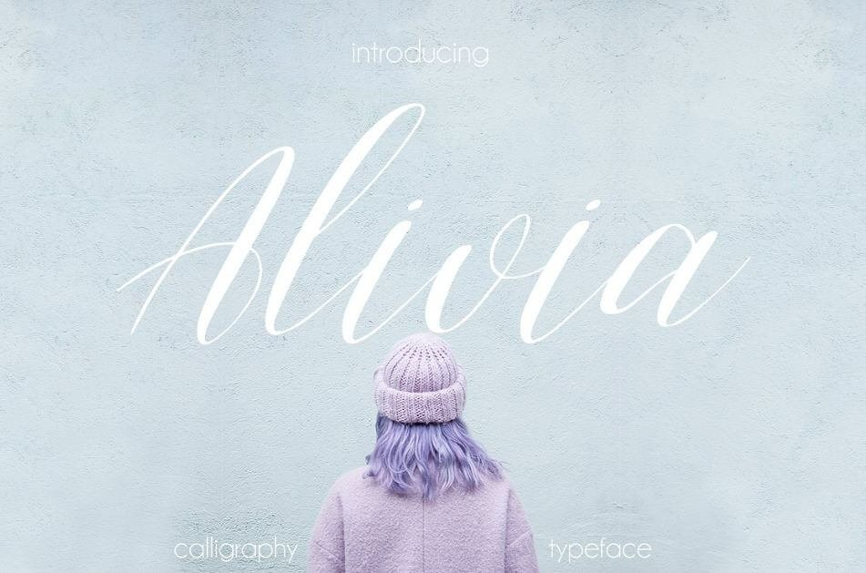 alivia fontr - Alivia Script Font Free Download