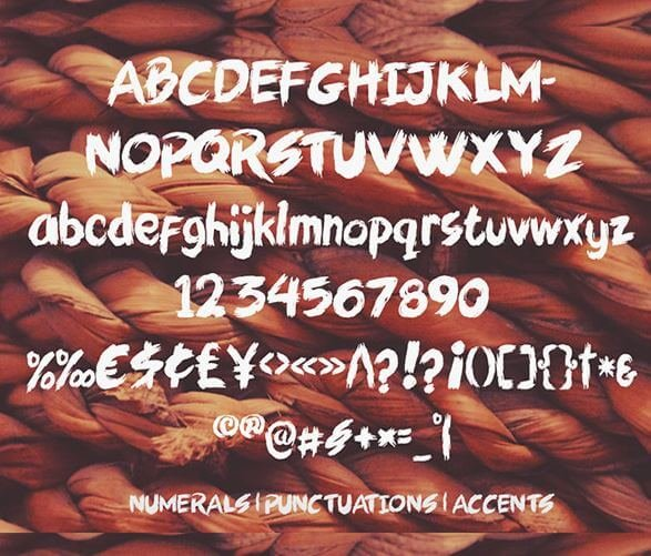 artsy font - Artsy Brush Font Free Download
