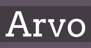 arvo font 310x165 - Arvo Font Free Download