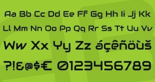 audiowide font 310x165 - Audiowide Font Free Download