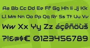 audiowide font 310x165 - Audiowide Font Free Download