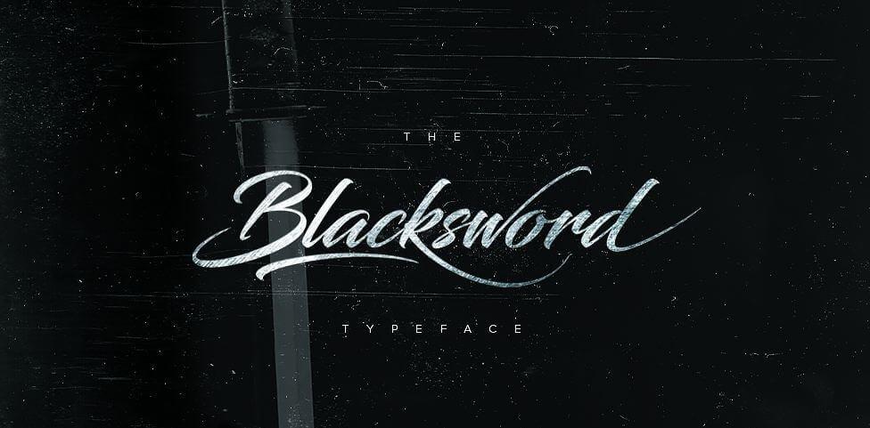 blacksword font - Blacksword Font Free Downlaod