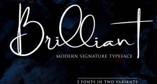 brilliant font 310x165 - Brilliant Signature Font Free Download