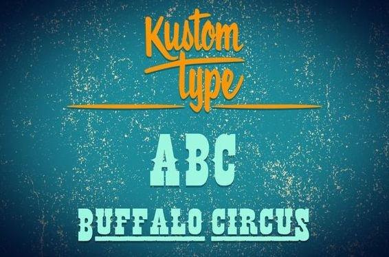 buffalo fonmt - Buffalo Circus Font Free Download