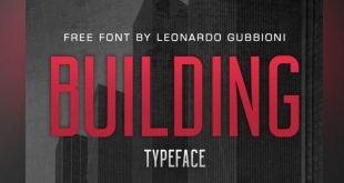 building font 310x165 - Building Font Free Download