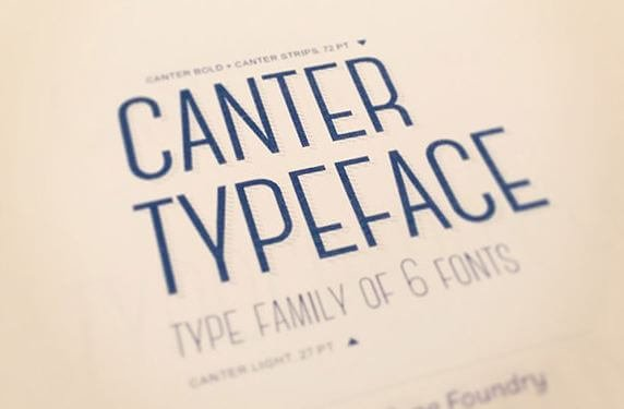 canter typeface - Canter Font Free Download