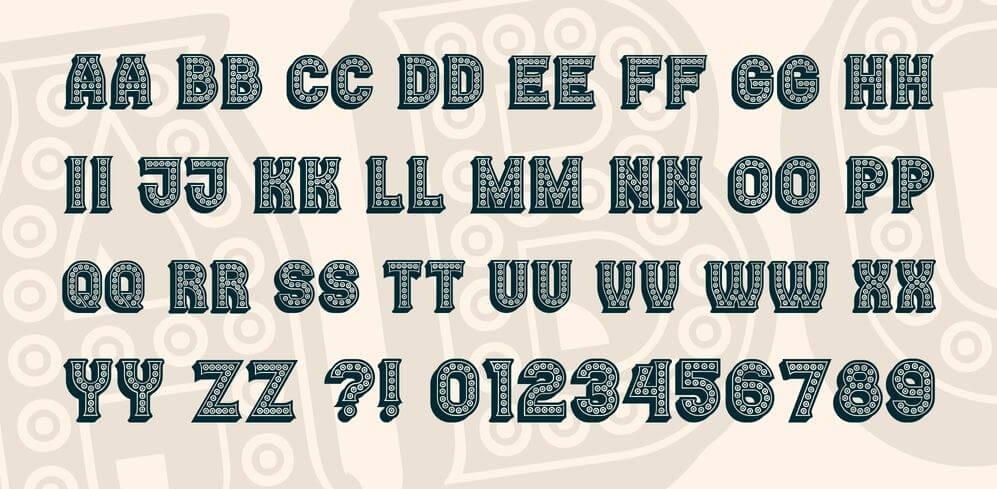 casino font - Casino Font Free Download