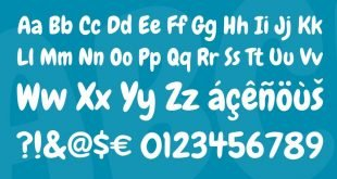 chewy font 310x165 - Chewy Font Free Download