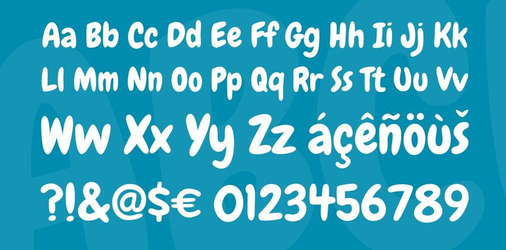 chewy font - Chewy Font Free Download