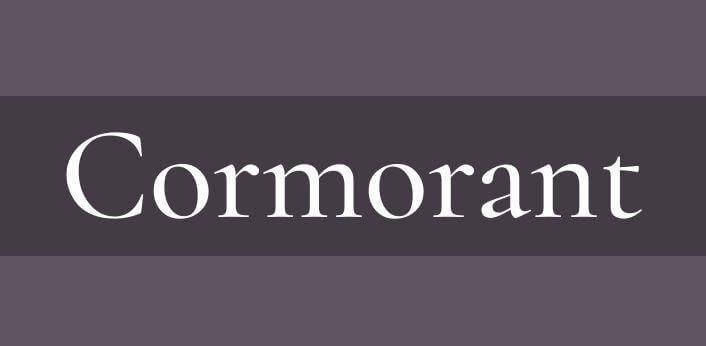 cormorant font - Cormorant Font Free Download