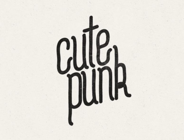 cute punk font - Cute Punk Font Free Download