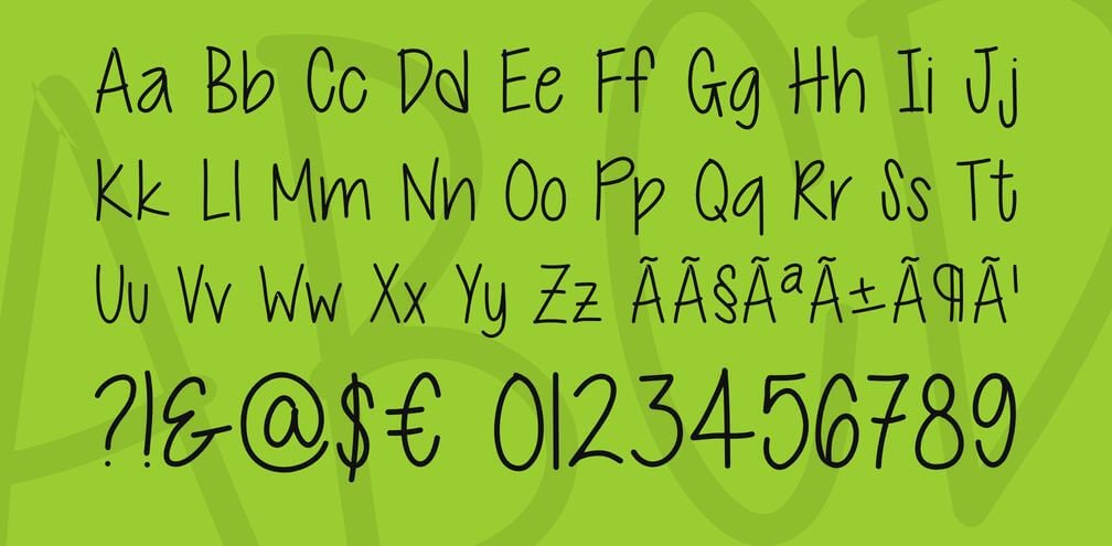 cutie pottie font - Cutie Patootie Font Free Download