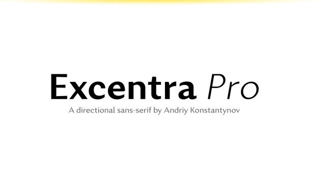 excentra font - Excentra Pro Font Free Download