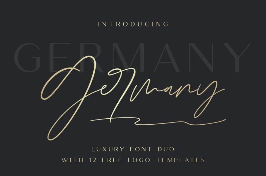 germany font - Germany Font Free Download