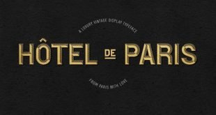 hotel de parish 310x165 - Hotel De Paris Font Free Download