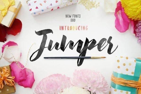 jumper font - Jumper Script Font Free Download