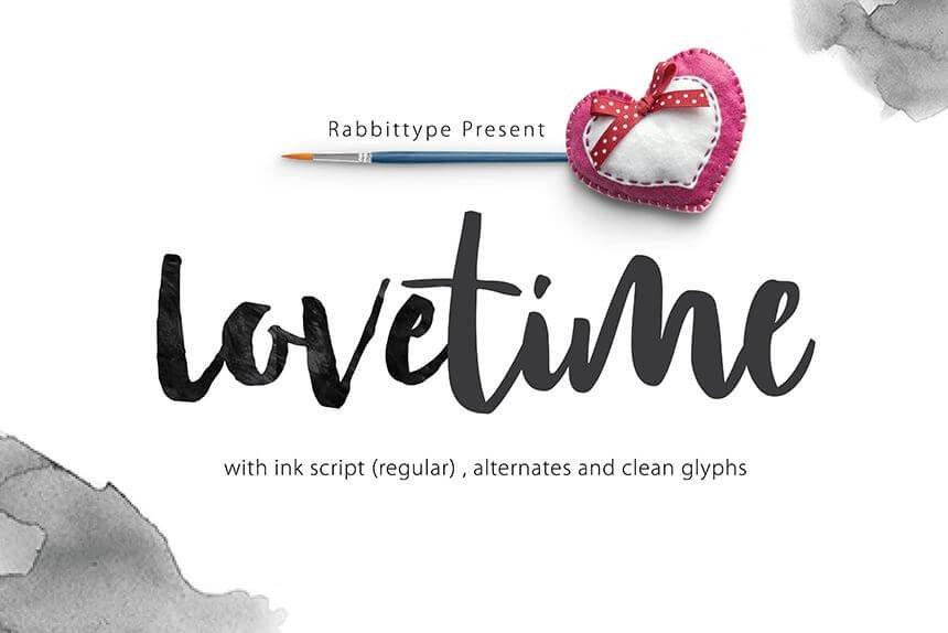 lovetime font - Lovetime Script Font Free Download