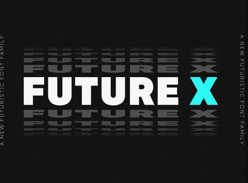 made future font - Made Future X Font Free Download