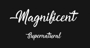magnificient font 310x165 - Magnificent Supernatural Font Free Download