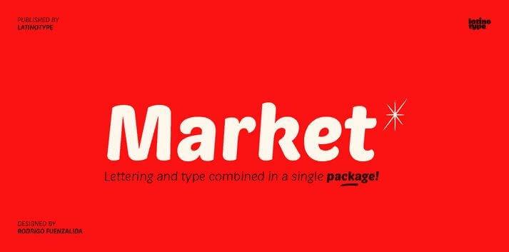 market font - Market Font Free Download