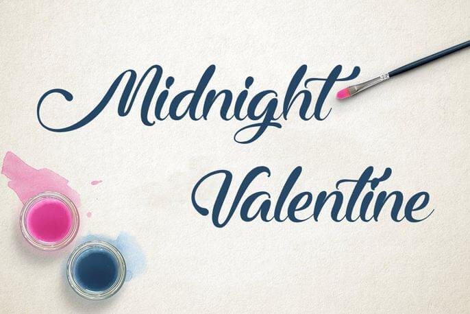 midnight valentine font - Midnight Valentine Font Free Download