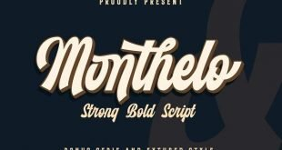 monthelo font 310x165 - Monthelo Vintage Font Free Download
