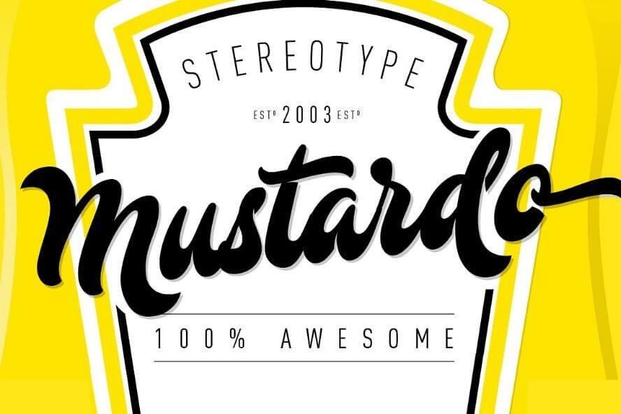 mustardo font - Mustardo Script Font Free Download