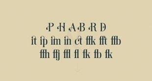 seria font 310x165 - Soria Serif Font Free Download