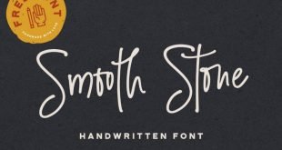 smooth stone font 310x165 - Smooth Stone Script Font Free Download