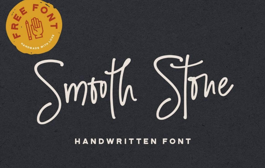 smooth stone font - Smooth Stone Script Font Free Download