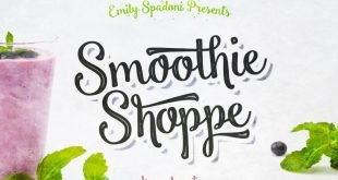 smoothie shoppe font 310x165 - Smoothie Shoppe Script Font Free Download