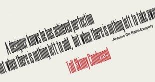 tall skinny font 310x165 - Tall Skinny Condensed Font Free Download
