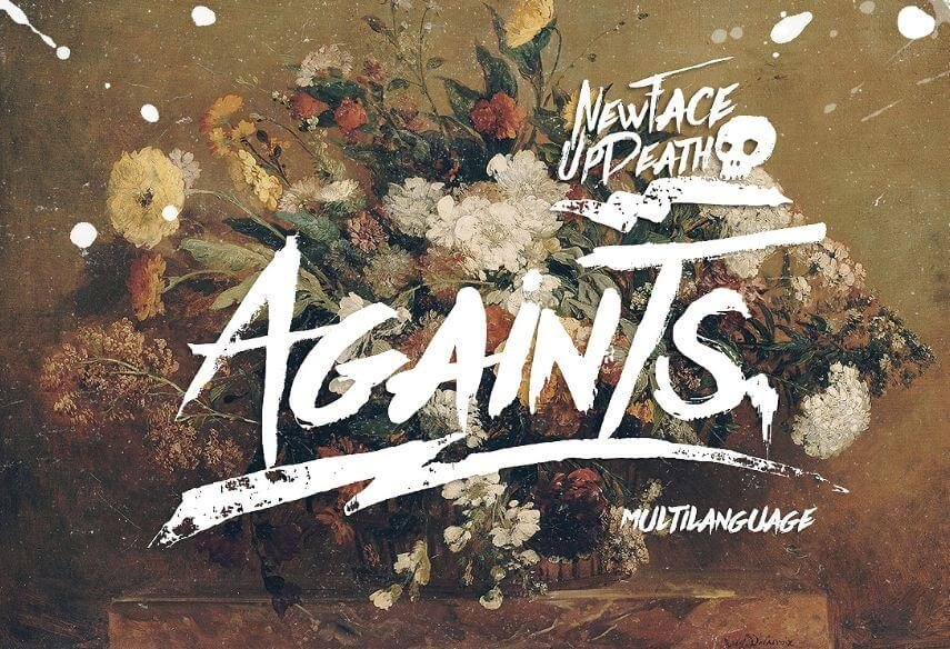 the againts font - Againts Font Free Download