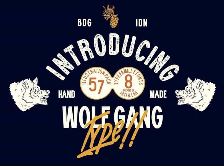 wolf gang - Wolf Gang Font Free Download