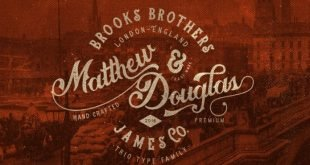 Brooks Hand Font