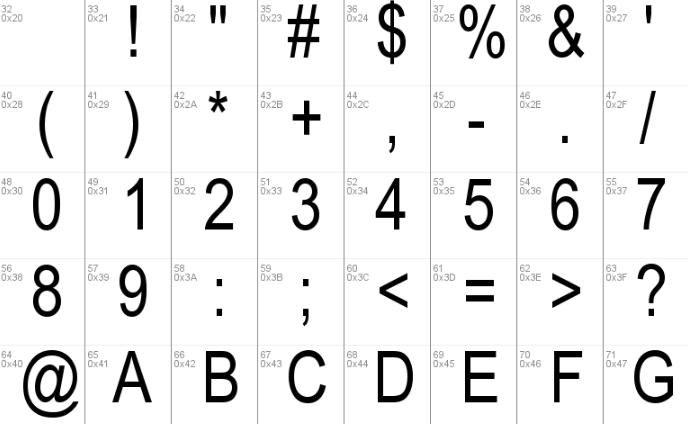 VnArial Font