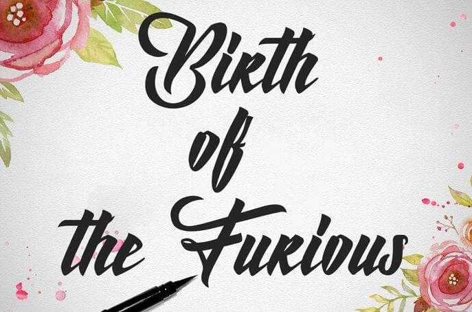 birth of the furious font - Birth of the Furious Font Free Download