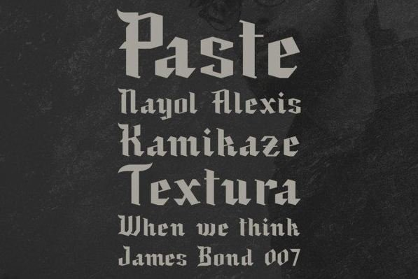black baron font - Black Baron Font Free Download