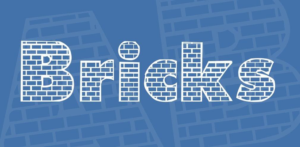 bricks font - Bricks Font Free Download