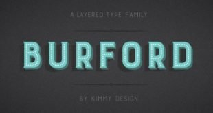 burford font 310x165 - Burford Marquee Font Free Download
