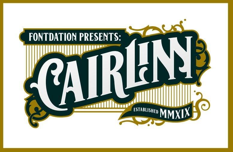 cairlin font - Cairlinn Vintage Font Free Download