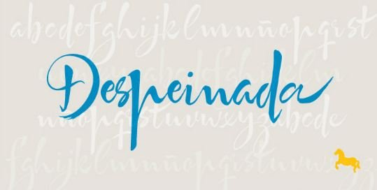despinda font - Despeinada Font Free Download