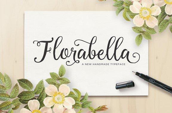 florabella font - Florabella Typeface Free Download