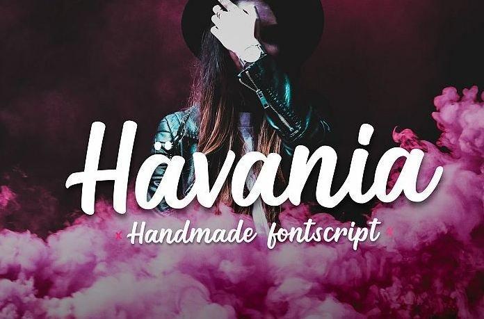 havania font - Havania Script Font Free Download