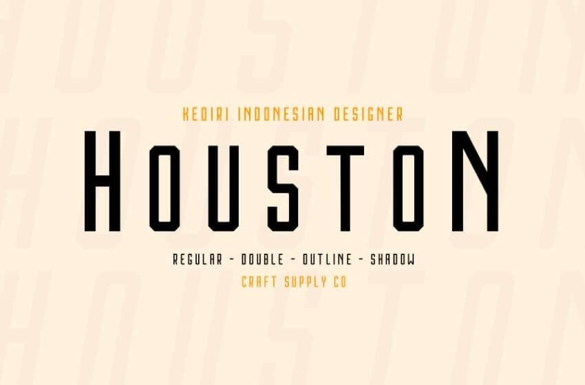 houston font - Houston Font Free Download