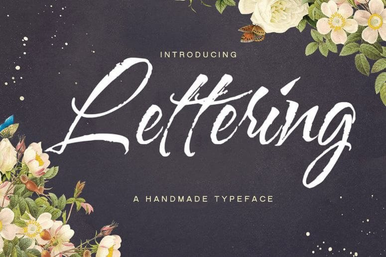 lettering script font - Lettering Script Font Free Download
